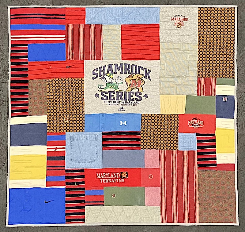 Memorial quilt - small quilt