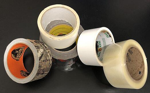 These 5 tapes are not painters tape. Don't use them to mark your T-shirts for a quilt maker.
