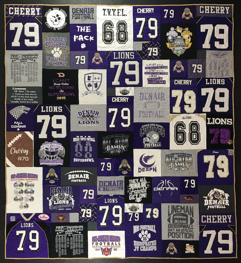 How many T-shirts Can I Use in a T-shirt Quilt?