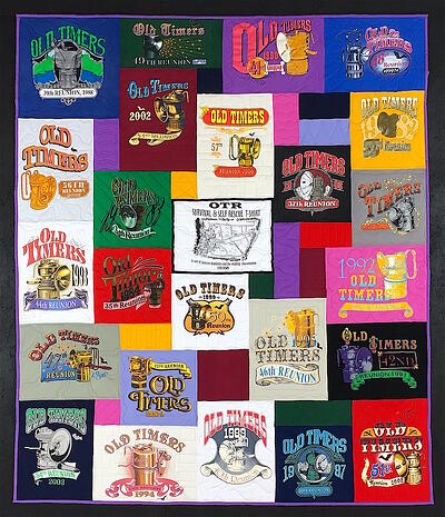 Old Timers T-shirt Quilt