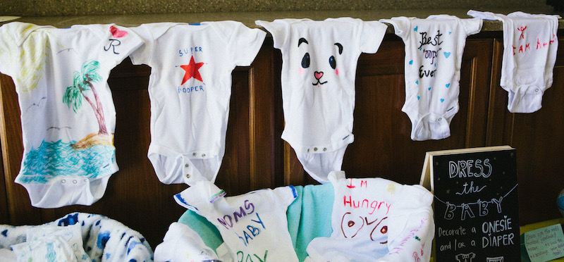 Baby Shower Onesies Party