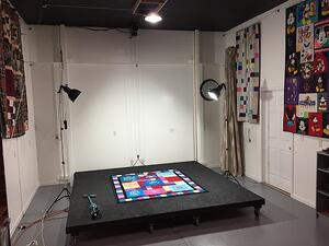 Photo Studio at Too Cool T-shirt quilts in Charlotte MI