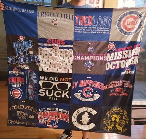 Project repat T-shirt blanket