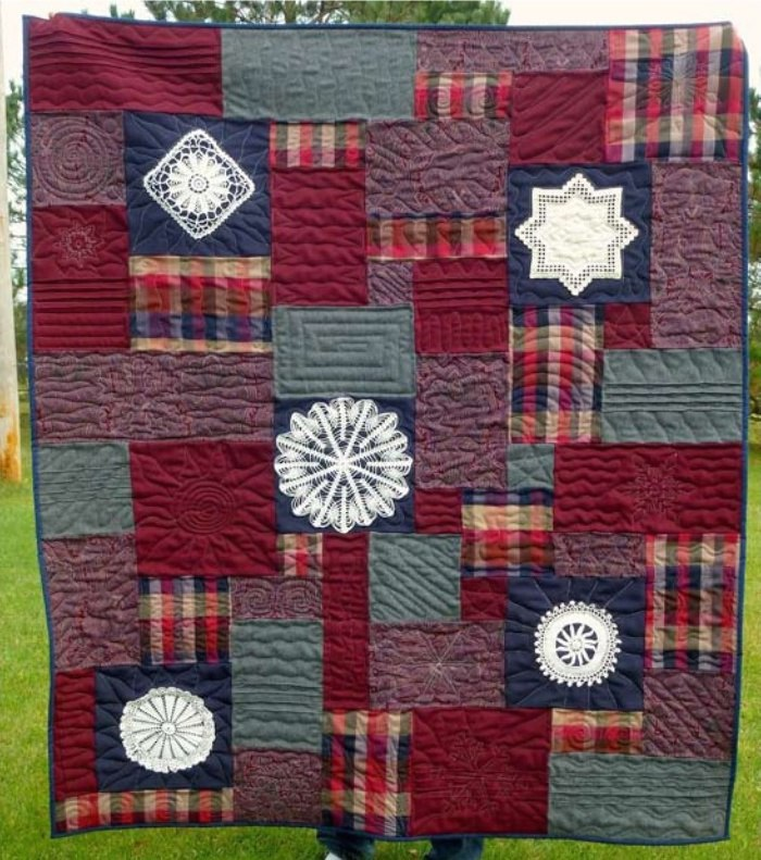Quilt_Made_w_Wool_Skirts__Doilies_4