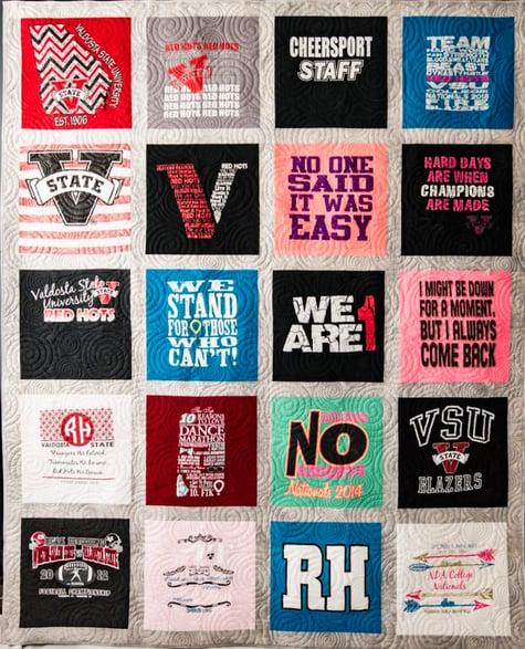 Quiltmyquilt T-shirt quilt