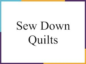 Sew Down Quilts