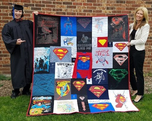 The best graduaion quilt photo