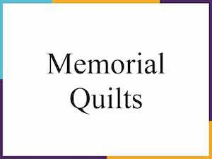 Title - Memorial Quilts