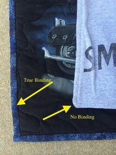 binding no binding
