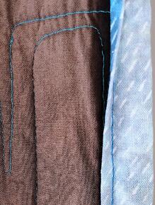 An example of how faded fabric can get.