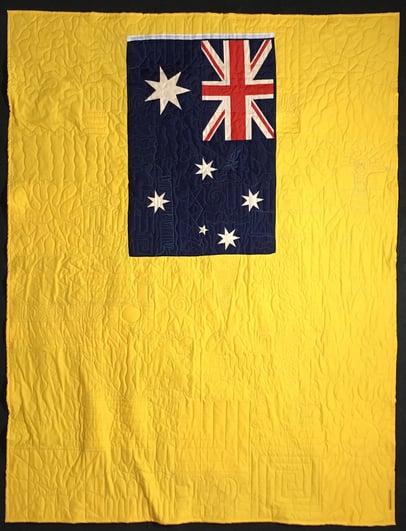 flag on Back 1