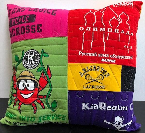 graduation T-shirt pillow