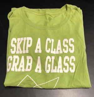 A half folded T-shirt.