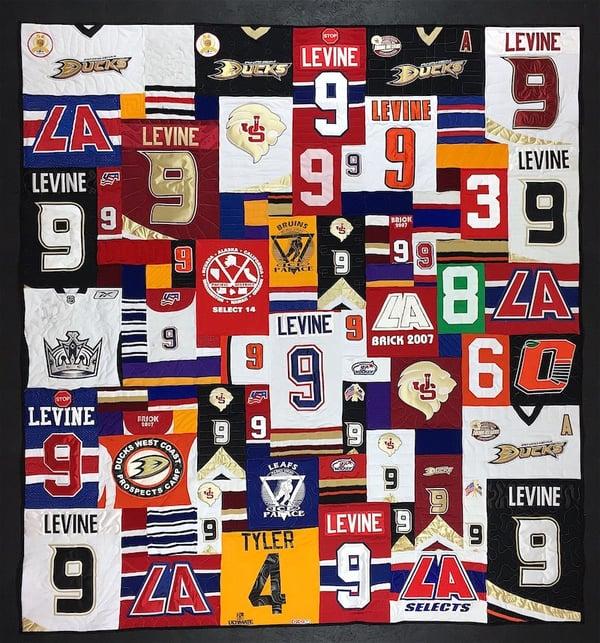 hockey jersey quilt 9