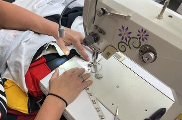 sewing a good T-shirt quilt takes experience