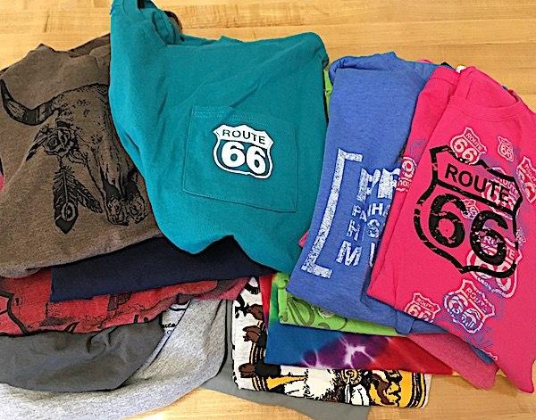 shirts for a T-shirt quilt