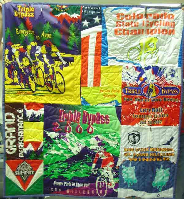 small bike jersey quilt