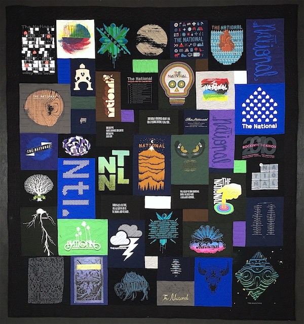 The Nationals  the band, T-shirt quilt