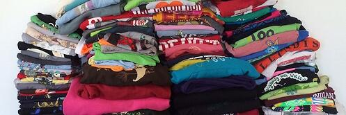 What to do with too many T-shirts?