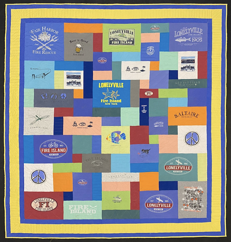 triple border Too Cool T-shirt Quilts