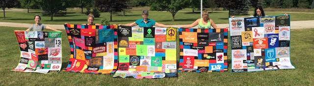 T-shirt Quilts by Too Cool T-shirt Quilts