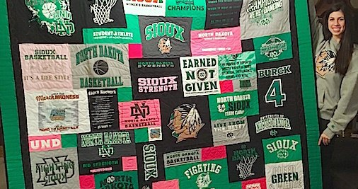 ND Fighting Sioux T-shirt Quilt.jpeg