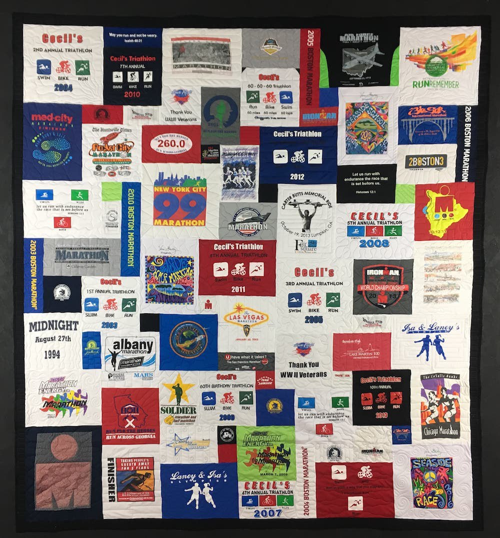 Too Cool T-shirt Quilts : quilt made out of t shirts - Adamdwight.com